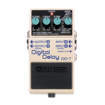 Boss DD-7, Digital Delay, Effects Pedal, Boss Cape Town, Boss South Africa, Boss Near Me