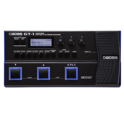 Boss, GT-1, Multi Effects, Electric Guitar Pedal, Digital, Boss Cape Town, Boss Near Me, Boss South Africa