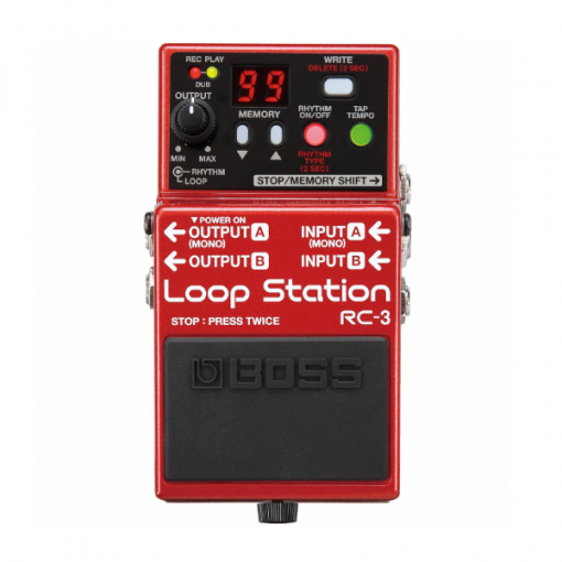 Boss, RC-3, Loop Pedal, Looper, Loop Station, Boss Cape Town, Boss Near Me, Boss South Africa