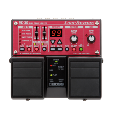 Boss, RC-30, Loop Pedal, Looper, Loop Station, Boss Cape Town, Boss Near Me, Boss South Africa