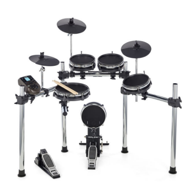 Alesis Nitro Mesh 5-Piece Electronic Drum Kit front, drum set, digital, mesh heads, Alesis near me, Alesis Cape Town
