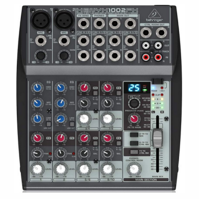 Behringer X1002FX , mixer , band, PA, stage, gig, sound, Behringer near me, Behringer Cape Town