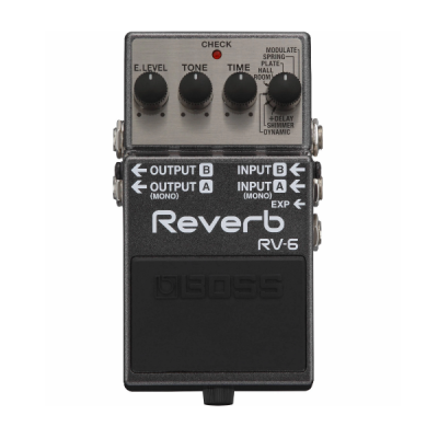 Boss, Reverb, RV-6, Reverb Pedal, Guitar Pedal, Analog, Boss Near Me, Boss Cape Town, Boss South Africa