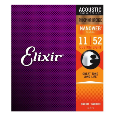Elixir, 11-52, 11 Gauge, Phosphor Bronze, Coated, Acoustic, Steel, Elixir Cape Town, Elixir Near Me, Elixir South Africa