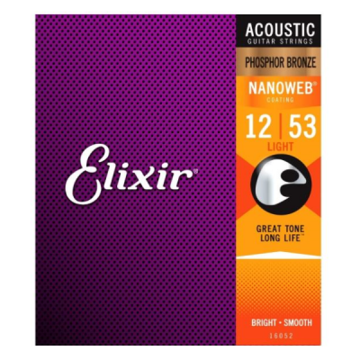 Elixir, 12-53, 12 Gauge, Phosphor Bronze, Coated, Acoustic, Steel, Elixir Cape Town, Elixir Near Me, Elixir South Africa