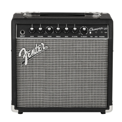 Fender, Champion 20, 20 Watt, Electric Guitar Amplifier, Fender Cape Town, Fender Near Me, Fender South Africa
