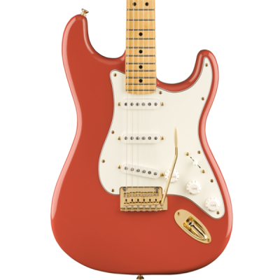 Fender, Stratocaster, Player, 22 fretts, maple fingerboard, FSR, Fiesta Red, Gold Hardware, Fender Player Stratocaster Near Me, Fender Player Stratocaster Cape Town,