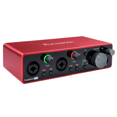 Focusrite Scarlett 2i2 3rd Gen USB, 2 in, 2 out, usb, soundcard, interface, Focusrite near me, Focusrite Cape Town