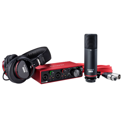 Focusrite Scarlett 2i2 studio bundle 7, interface, sound card, package, headphone, condensor mic, usb, Focusrite near me, Focusrite Cape Town