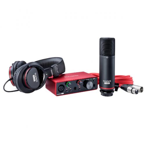 Focusrite Scarlett 2i2 studio bundle 7, interface, sound card, studio, recording, PC, producing, Focusrite near you, Focusrite Cape Town,