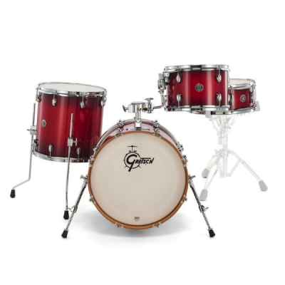 Gretsch, Catalina Club, 4-Piece, Crimson Burst Gloss, drum kit, Gretsch near me, Gretsch Cape Town,