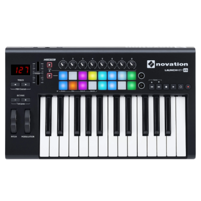 Novation, Launchkey 25, 25 Key, Midi Controller, Ableton, Studio, Novation Cape Town, Novation Near Me, Novation South Africa