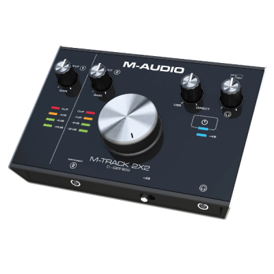 M-Audio M-Track 2X2 2, soundcard, interface, audio, usb, M-Audio near me, M-Audio Cape Town
