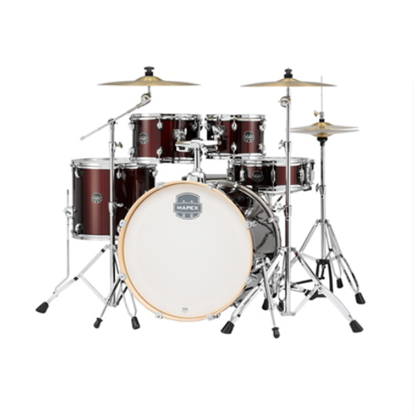 Mapex, Storm, 5-Piece, drum kit, Dark Red, Mapex near me, Mapex Cape Town,