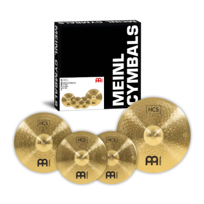 Meinl, HCS, Cymbals Pack, 4-Piece, Meinl Cape Town, Meinl Near Me,