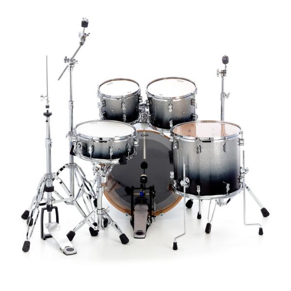 PDP, Concept Maple, 5-Piece, drum kit, Silver black fade, PDP near me , PDP Cape town,