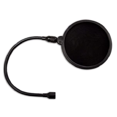 PS01 Microphone Pop Filter, mic, noise, pop, attachments, studio, stage, vocals, samson near me, samson cape town