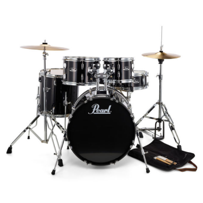 Pearl, Roadshow, 5-piece, drum kit, Jet Black, Pearl near me, Pearl Cape Town,