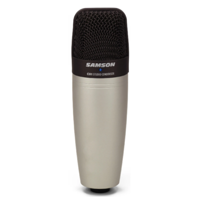 Samson C01, condenser, mic, recording, home, pc, Samson near me, Samson Cape Town