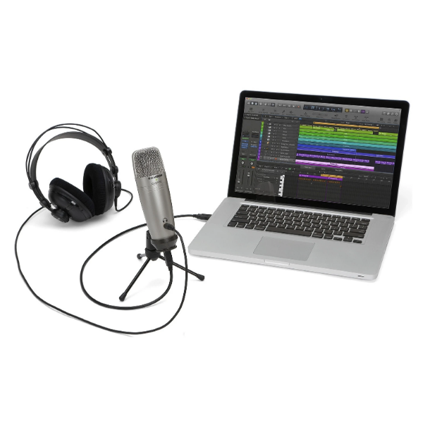 Samson C01U PRO, condenser, mic, pro, studio, recording, usb, PC, Samson near me, Samson Cape Town