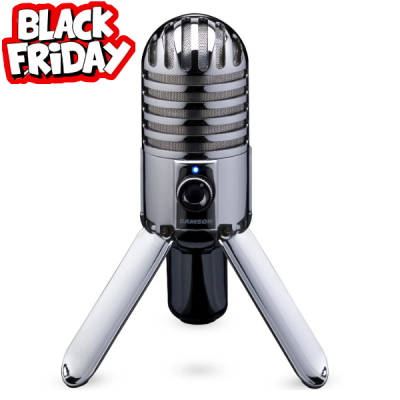Samson, Meteor mic, USB, Recording, Black friday, USB Microphone, Samson Near ME, Samson Cape Town,