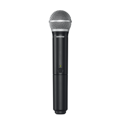 Shure BLX24 PG58 4, cordless, handheld, wireless, vocal, mic, church, stage, live, Shure near me, Shure Cape Town
