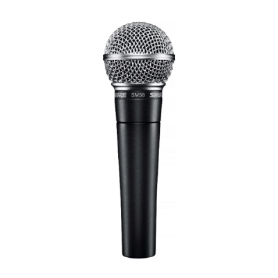 Shure SM58, vocal, handheld, wired, mic, solo, lead vocal, studio, band, Shure near you, Shure Cape Town