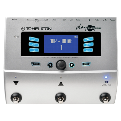 TC Helicon Play Electric, vocal, effects, harmoniser, processor, pedal, electric guitar, singing, PA, Stage, TC Helicon near me, TC Helicon Cape Town