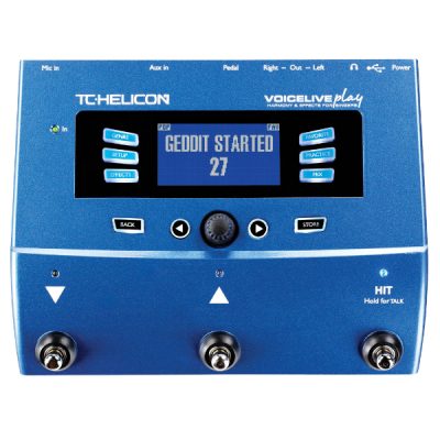 TC Helicon Voicelive Play, vocal, processor, pedal, gigs, stage, studio, singers, harmonise, TC Helicon near you, TC Helicon Cape Town