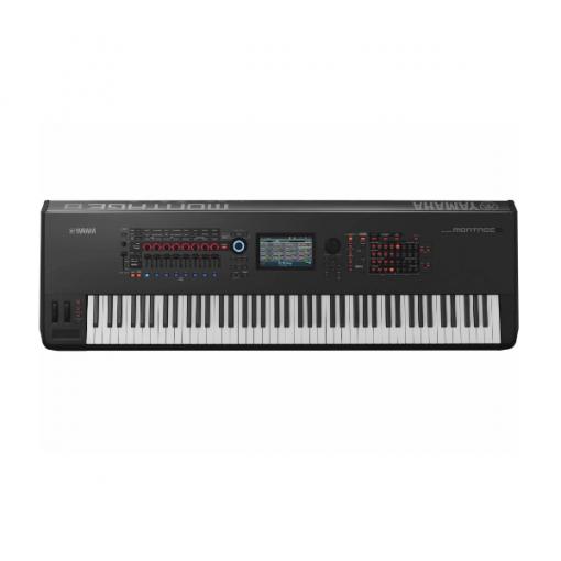 Yamaha Montage 8 , pro synth, 88 key, weighted, Yamaha, stage, studio, band, church, auditorium, Yamaha near me, Yamaha Cape Town
