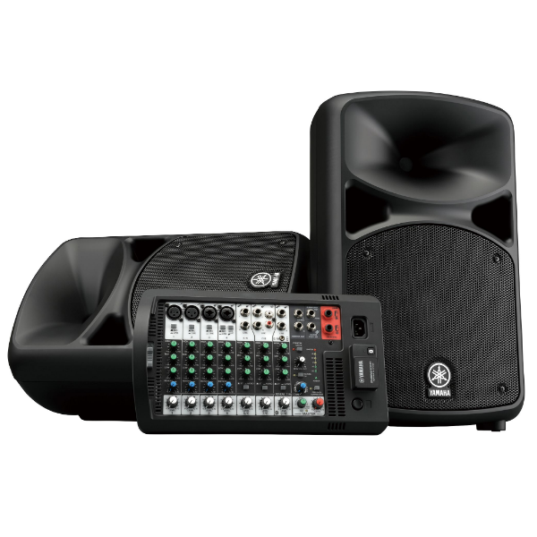 Yamaha StagePas 600BT, portable, powered, PA, mixer w/effects, bluetooth, compact, PA, shows, theatre, gigs, Yamaha near me, Yamaha Cape Town