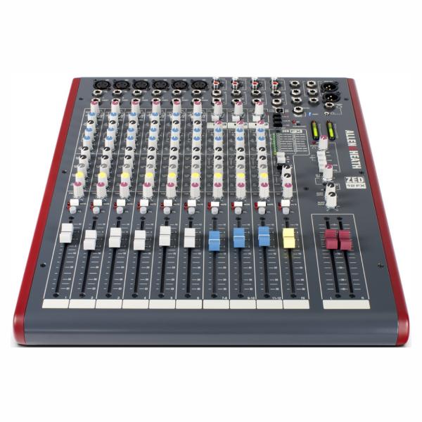 ZED12FX, mixer, Allen & Heath, studio, band, church, stage, PA, ALlen & Heath near me, ALlen & Heath Cape Town