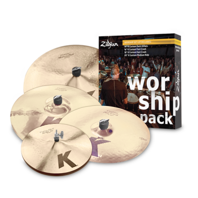 Zildjian, Worship pack, Cymbal Set, K-Custom, Cymbals, Zildjian Near Me, Zildjian Cape Town