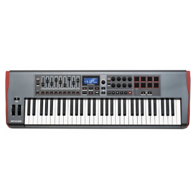 Novation, Impulse 61. 61-Key, Midi Controller, Studio, Controller, Novation Near Me, Novation Cape Town, Novation South Africa