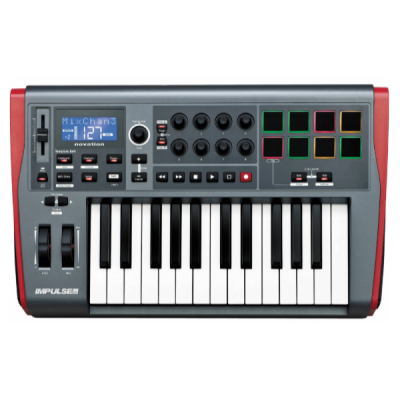 Novation, Impulse 25. 25-Key, Midi Controller, Studio, Controller, Novation Near Me, Novation Cape Town, Novation South Africa