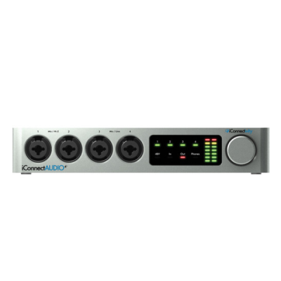 iConnectivity, iConnectAUDIO4+, Interface, Recording, Studio, Soundcard
