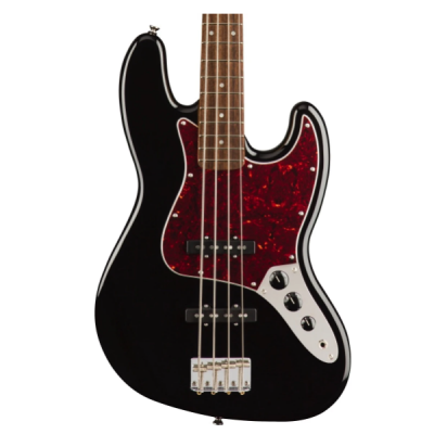 Fender, Squier, Classic Vibe, 4 String, Jazz Bass, Black, Indian Laurel Fingerboard, Bass Cape Town, Bass Near Me, Bass South Africa