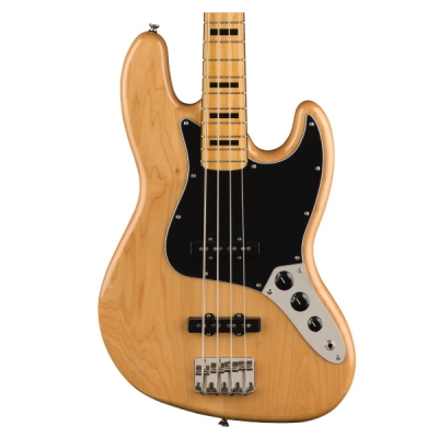 Fender, Squier, Classic Vibe, '70s, Jazz Bass, Natural, Maple Neck, 4 String, Squier Near Me, Squier Cape Town, Squier South Africa