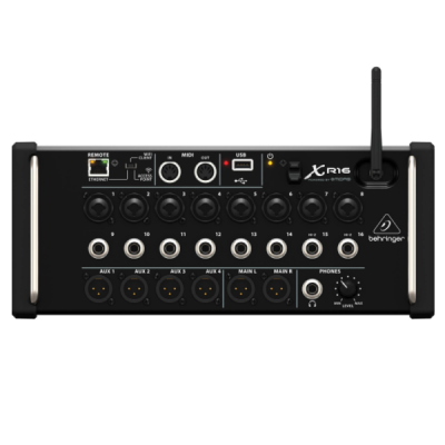 Behringer, XR16, 16 channel, Tablet mixer, Behringer near me, Behringer Cape Town,