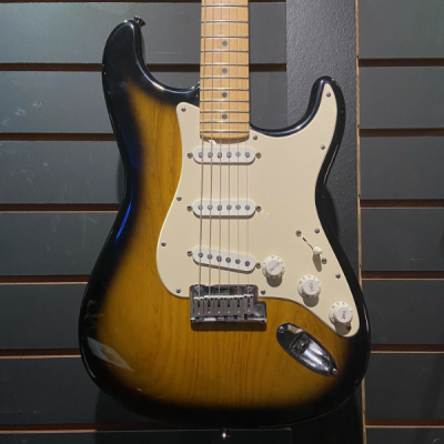 Fender, USA, Stratocaster, 50th Anniversary, Two Tone Burst, Maple Neck, Fender Cape Town