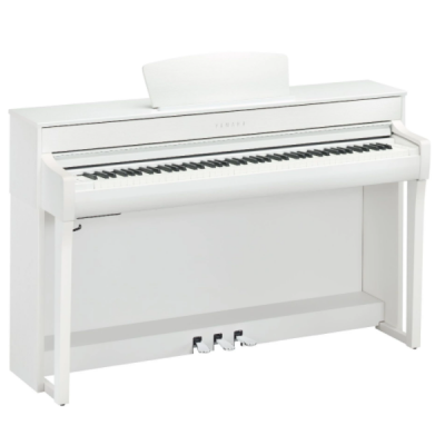 Yamaha CLP-735W, White, 88 key, hammer action, digital piano, stage, church, home, band, usb, yamaha near me, yamaha cape town