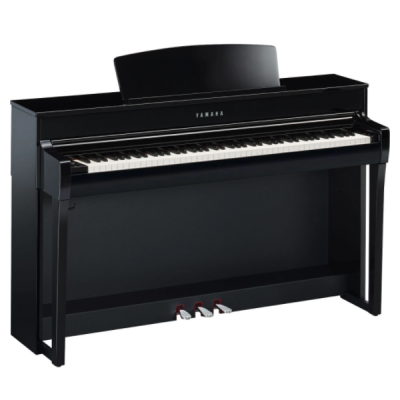 Yamaha CLP-745PE, Polished Ebony, 88 key, hammer action, digital piano, stage, church, home, band, usb, yamaha near me, yamaha cape town