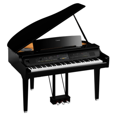 Yamaha, Clavinova, CVP-809GP, Polished Ebony, 88 Key, Hammer Action, Digital Piano, Stage, Church, Home, Band, Usb, Yamaha Near Me, Yamaha Cape Town