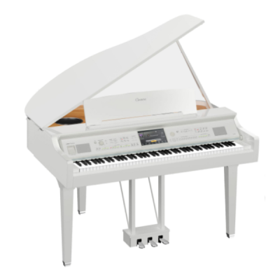 Yamaha, Clavinova, CVP-809GP, White, 88 Key, Hammer Action, Digital Piano, Stage, Church, Home, Band, Usb, Yamaha Near Me, Yamaha Cape Town