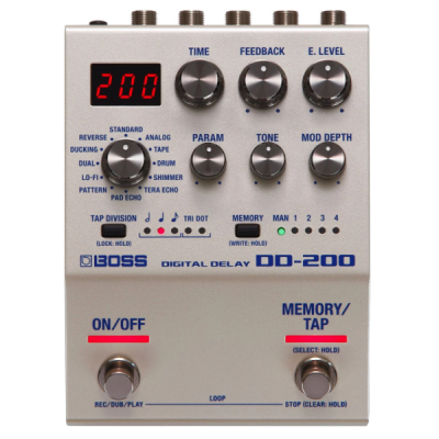 Boss, DD-200, Digital Delay, Delay Pedal, Effects pedal, Boss Near Me, Boss Cape Town,