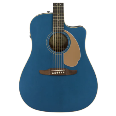 Fender, California, Redondo, Player, Acoustic Electric, Guitar, Belmont Blue, Fender, Fender Cape Town