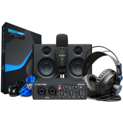 Presonus, Audiobox Studio Ultimate Bundle, Studio Bundle, 25th Anniversary, Interfase, Audio interface, Presonus near me, Presonus Cape Town,