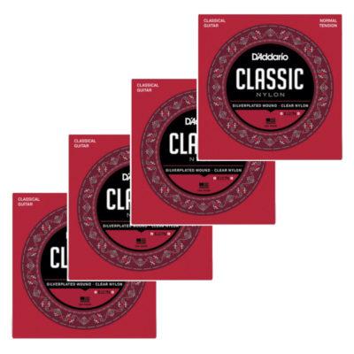 D'Addario, EJ27N, Classic Strings, Nylon, 4 pack, D'Addario Strings Near Me, D'Addario Strings Cape Town,
